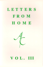 Letters from Home - Volume III